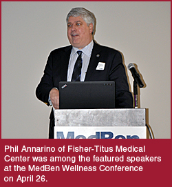 Phil Annarino of Fisher-Titus Medical Center