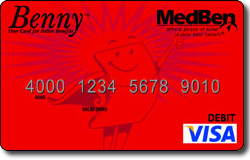 MedBen Debit Card