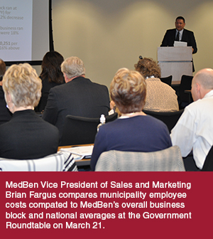 MedBen Vice President of Sales and Marketing Brian Fargus