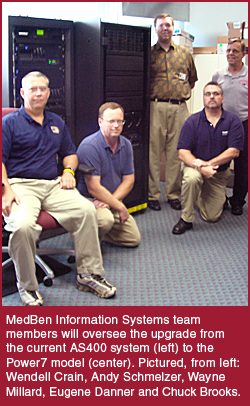 MedBen Power7 Installation Team