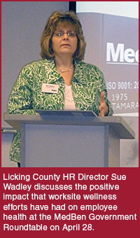 Sue Wadley, Licking County Government HR Director