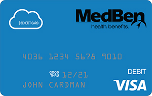 MedBen FSA-HRA Debit Card