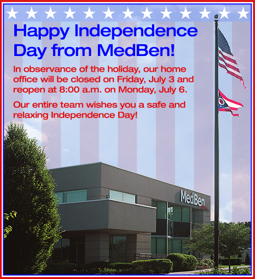 Happy Independence Day from MedBen!