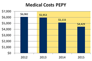 Medical Costs PEPY